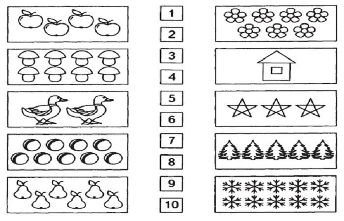 Задания по математике для дошкольников 6 7